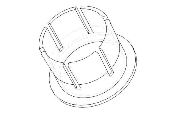 carbon barplug tech drawing