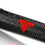 1k carbon weave closeup