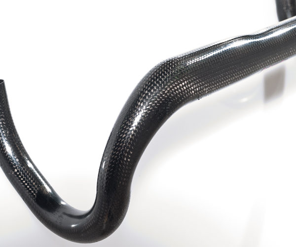 Oversize carbon dropbar compact the lightest one closeup