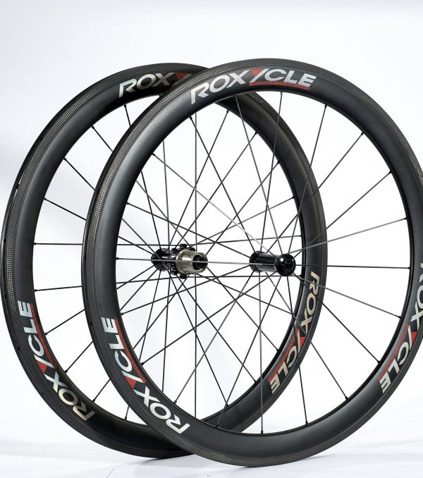 Roxycle wheelset with tune hubs