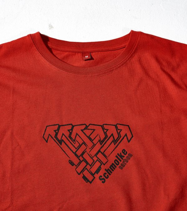 Schmolke Carbon logo t-shirt red
