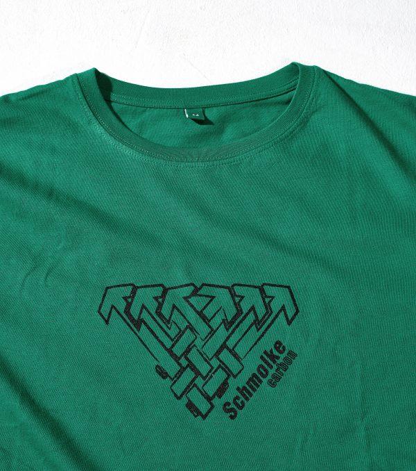 Schmolke Carbon logo t-shirt green