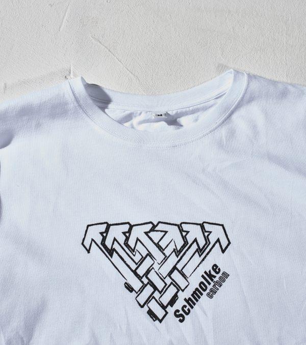 Schmolke Carbon logo t-shirt white