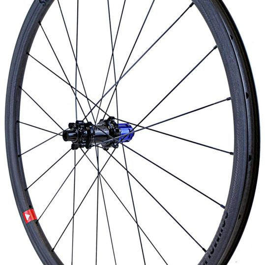 TLO 30mm Schmolke Carbon Clincher Black Edition