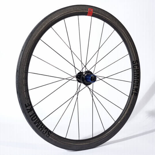 Schmolke Tubular SL 45 Black Edition with Tune Mig170 hub