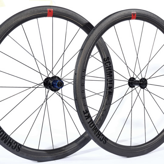 Schmolke Clincher SL 45mm wheelset with Tune mig70 mag 170 hubs